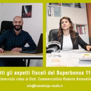 ASPETTI FISCALI SUPERBONUS 110